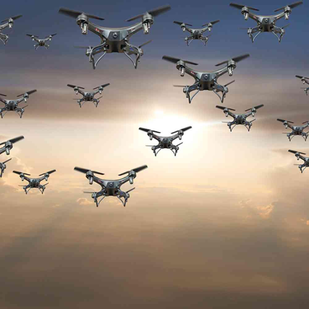 Statt mit Batterien können Drohnen mit Diamanten und Laser angetrieben werden | WIRED Germany