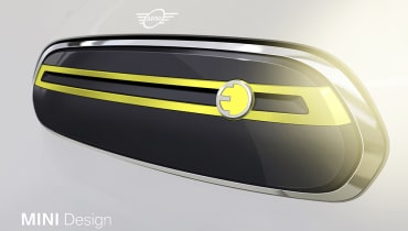Mini veröffentlicht erste Bilder des kommenden Elektroautos