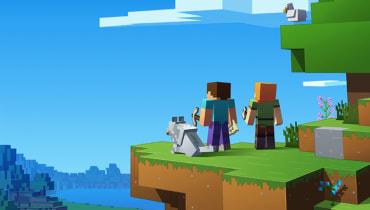 Minecraft-Fans können jetzt zusammen in einer Welt spielen