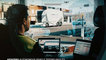 In Schweden gibt es jetzt ein halb-virtuelles Testgelände für selbstfahrende Autos