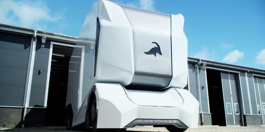 Einride Fahrzeug für DB Schenker