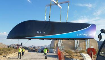 Hyperloop One: Erster erfolgreicher Test im Originalmaßstab