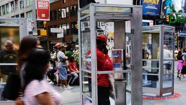 Das erstaunliche Comeback der Telefonzelle