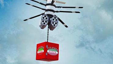 Uber will offenbar schon 2021 Essen mit Drohnen ausfliegen