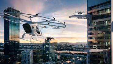 Volocopter: Flugtaxis werden in Singapur getestet