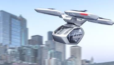 Das Flugtaxi von Audi und Airbus soll auch zum Auto werden