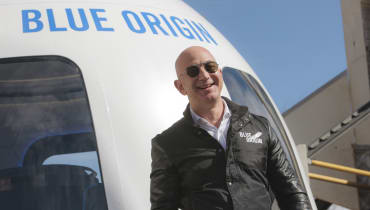 Blue Origin: Jeff Bezos will 2019 Touristen ins All bringen