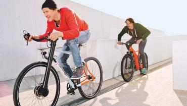 Ein Tritt gegen die Ehre? E-Bikes im Test