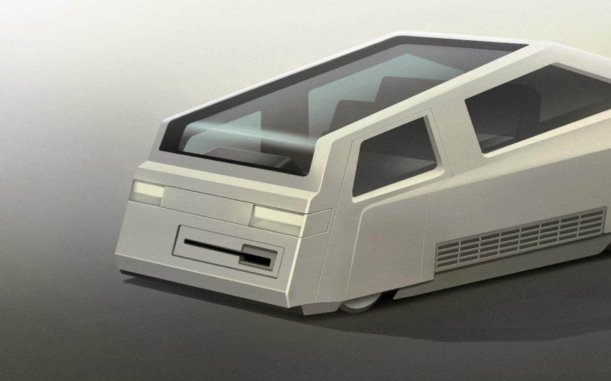 So stellen sich britische Designer Apples iCar vor