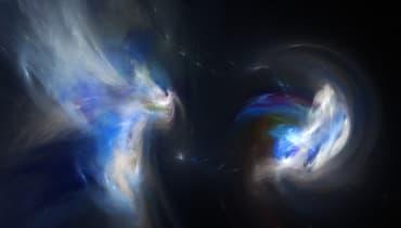 Durchbruch für die Astrophysik: Erstmals kollidierende Neutronensterne beobachtet
