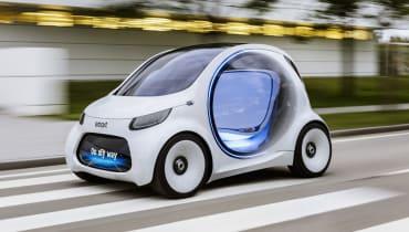 Der Smart hat künftig Augen – aber kein Lenkrad