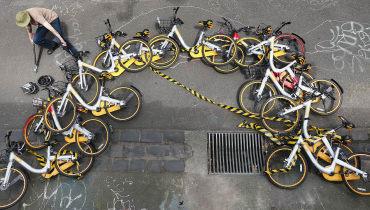 Nach der Pleite – was mit den oBike-Leihrädern nun passiert