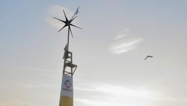 Eine neuartige Windturbine soll Millionen Indern endlich Strom bringen