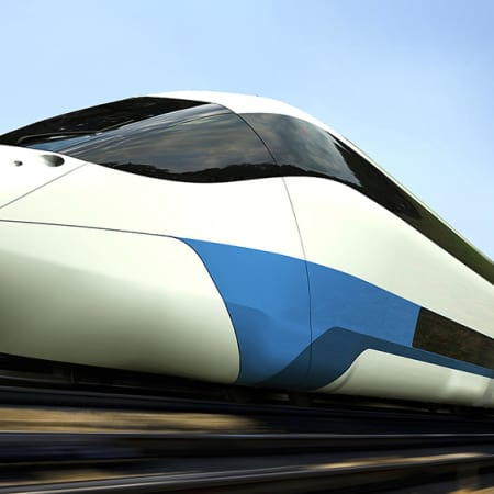 In den Zügen der Zukunft mit Tempo 400 um die Welt | WIRED Germany