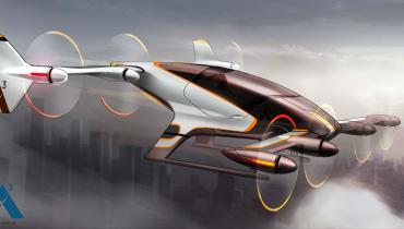 Airbus lässt sein fliegendes Taxi aufsteigen