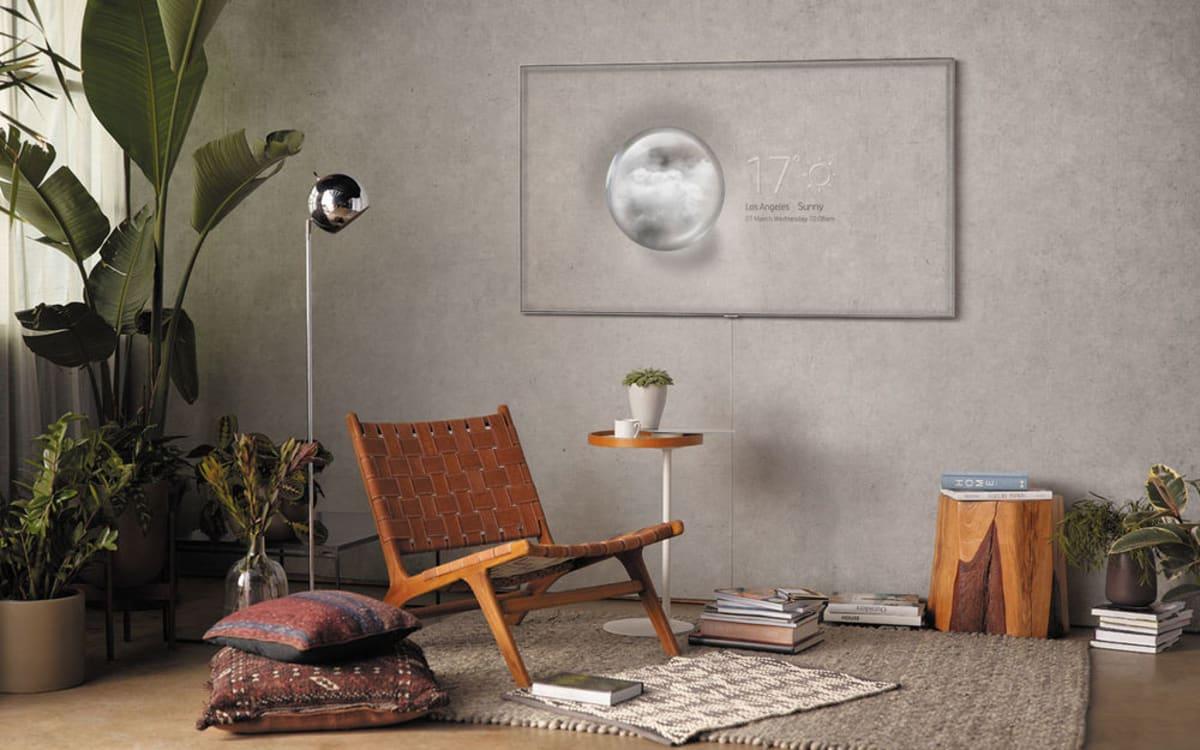 So Lässt Samsung Den Fernseher Aus Dem Wohnzimmer Verschwinden Gq