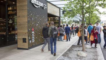 Amazon eröffnet bislang größten Go-Shop