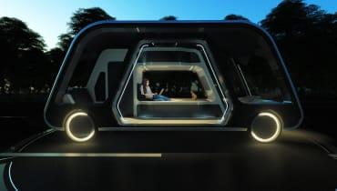 Autonomous Travel Suite: Das selbstfahrende Hotelzimmer auf Rädern
