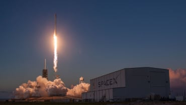 SpaceX: Die Falcon 9 hat eine Wasserung überlebt