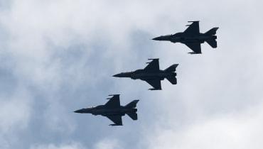 Die US-Luftwaffe zeigt eine unbemannte F-16