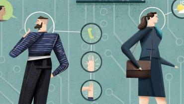 Can't touch this – Warum Interaktionsdesigner den Bildschirm als Schnittstelle abschaffen wollen