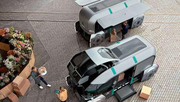 Renaults Ez-Pro: So könnte urbane Logistik in Zukunft aussehen