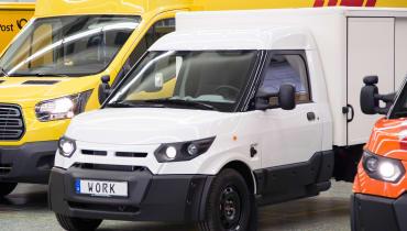 Ford vertreibt die E-Lieferwagen der Deutschen Post