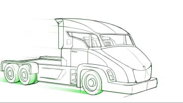 Im Jahr 2029 werden autonome Elektro-LKW unterwegs sein, aber nur auf kurzen Strecken