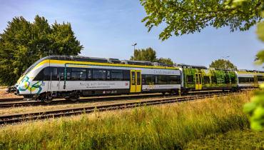 Neue Züge auf deutschen Gleisen: Einer mit Batterie, einer mit Brennstoffzelle