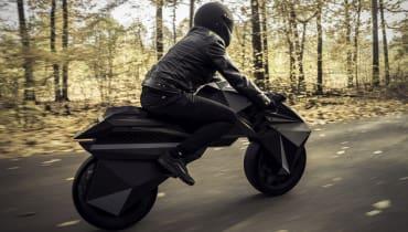 Dieses Science-Fiction-Motorrad kommt aus dem 3D-Drucker
