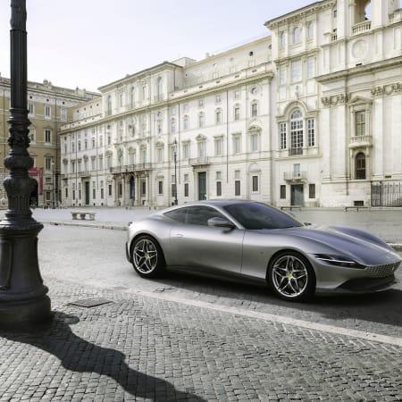 Supersportwagen : Neue Formenlehre: Weltpremiere für den Ferrari Roma