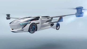 AeroMobil zeigt sein nächstes fliegendes Auto