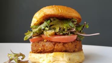 Der fleischlose Burger von Beyond Meat kommt jetzt nach Deutschland