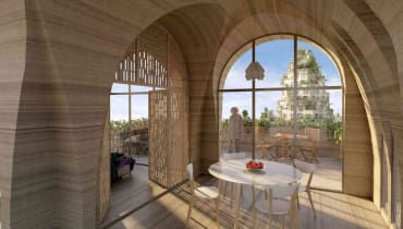 Ein Architekt will ein neues Mossul mit 3D-Druckern gestalten