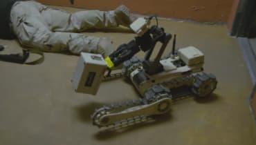 Alien-Blut und Strahlenlecks: So üben Bombenroboter im Robot Rodeo