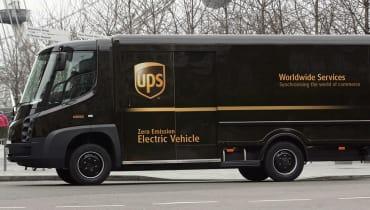 Wie der Blitz? UPS will Pakete mit Elektro-Lastern liefern