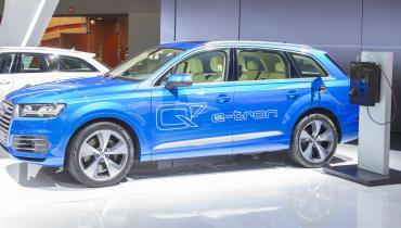 Der Audi E-Tron geht in die Produktion