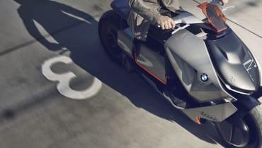 BMW Concept Link: Das E-Motorrad von morgen hat einen Rückwärtsgang