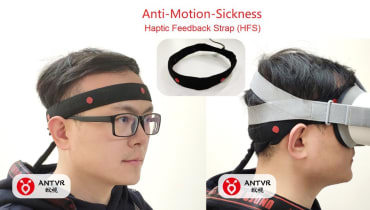 Diese Stirnbänder sollen die VR-Krankheit besiegen