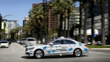 Bosch und Daimler bringen fahrerlose Taxis nach Kalifornien