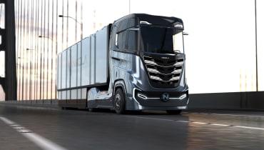 Nikola Motors stellt neuen Wasserstoff-Elektro-Truck vor