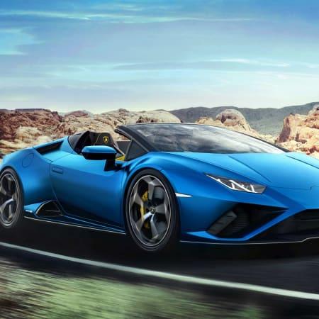 Sportwagen-Cabrio : Lamborghini Huracán Evo RWD Spyder: Freiluft-Power mit Hinterradantrieb