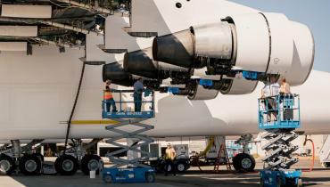 Das größte Flugzeug der Welt ist startbereit – fast