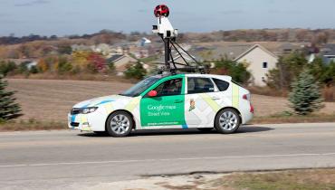 Stell dir vor, es fotografieren wieder Google Autos – und keiner sieht hin!