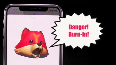 Apple erwartet beim iPhone X eingebrannte Displays