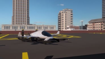 Uber stellt Skyports für seine fliegenden Taxis vor