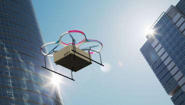 Zeppeline, Bienenstöcke, Drohnen-Tunnel: Die Stadt, wie Amazon sie plant