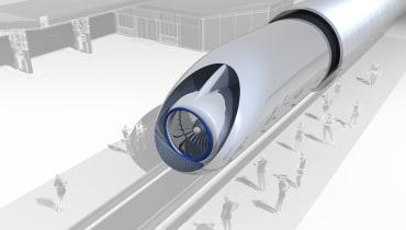 Die erste europäische Hyperloop-Strecke wird in Frankreich gebaut