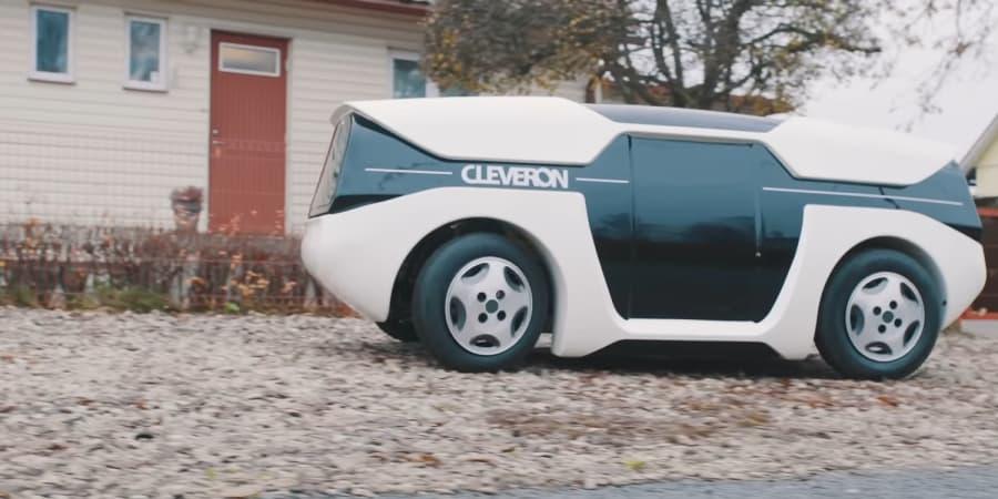 Dieses selbstfahrende Auto liefert Pakete mit einem Roboterarm aus | WIRED Germany