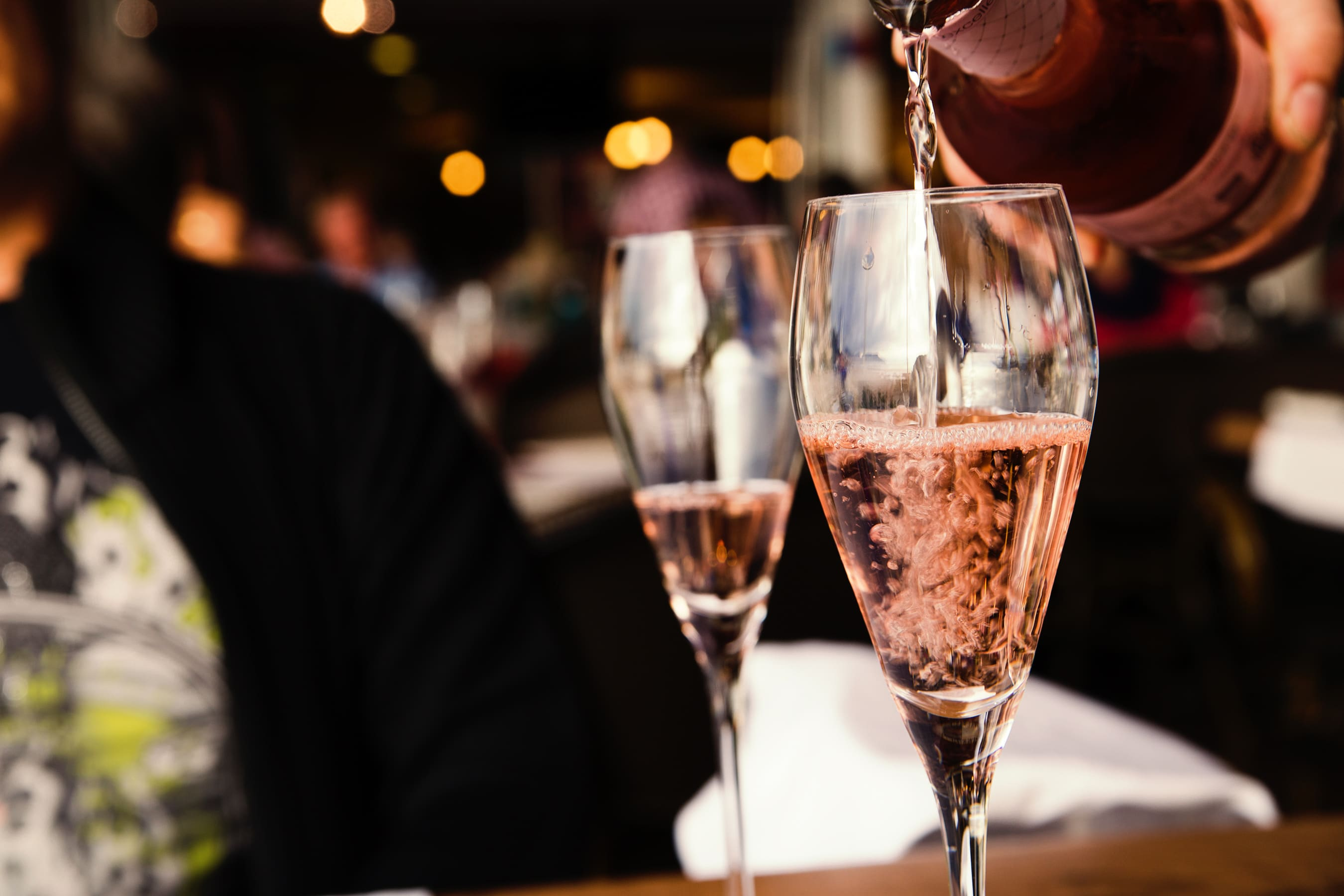 glass, wine, rose, bar, alcohol inventory app, wisk